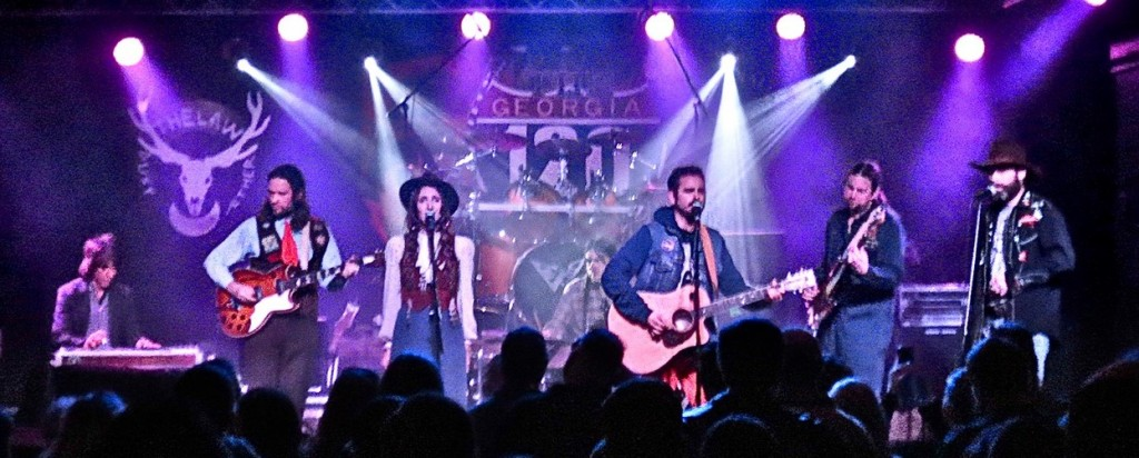 Trappers Cabin with The Law Band opening for Shooter Jennings at The 120 Tavern & Music Hall in Marietta, Georgia (Feb 7, 2015)