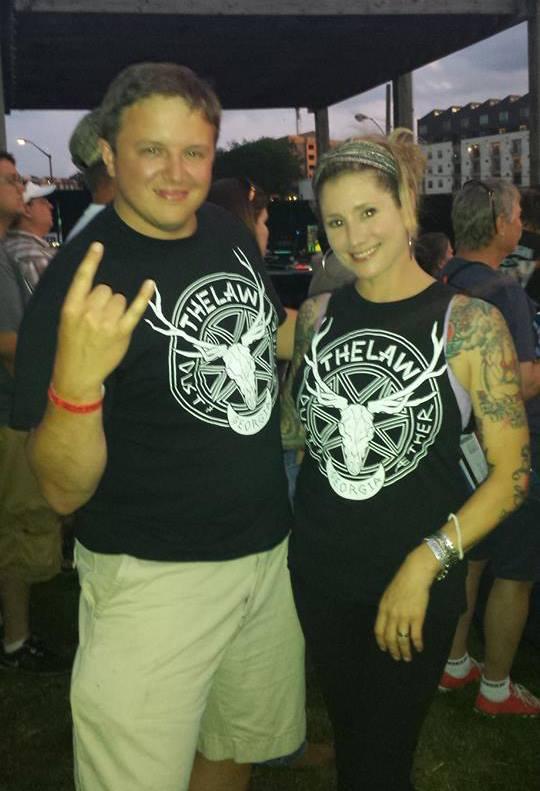 Always Running Into Eachother #deputized  Brandl & Lauren at: Merle Haggard live @ Tabernacle Atlanta, GA