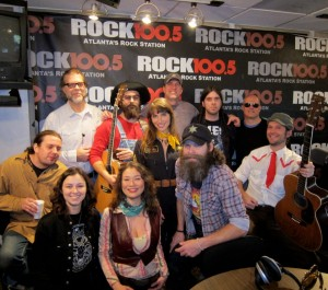 The Law Band & The Regular Guys at ROCK 100.5 FM