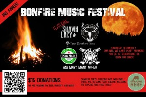 The Law Band @the 2nd Annual Bonfire Music Festival