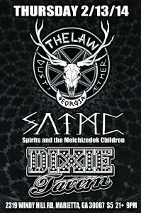 The Law Band and Spirits and the Melchizedek Children @Dixie Tavern