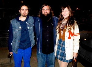 Levi Lowrey, Trappers Cabin & Nancy Kaye Hil of The Law Band