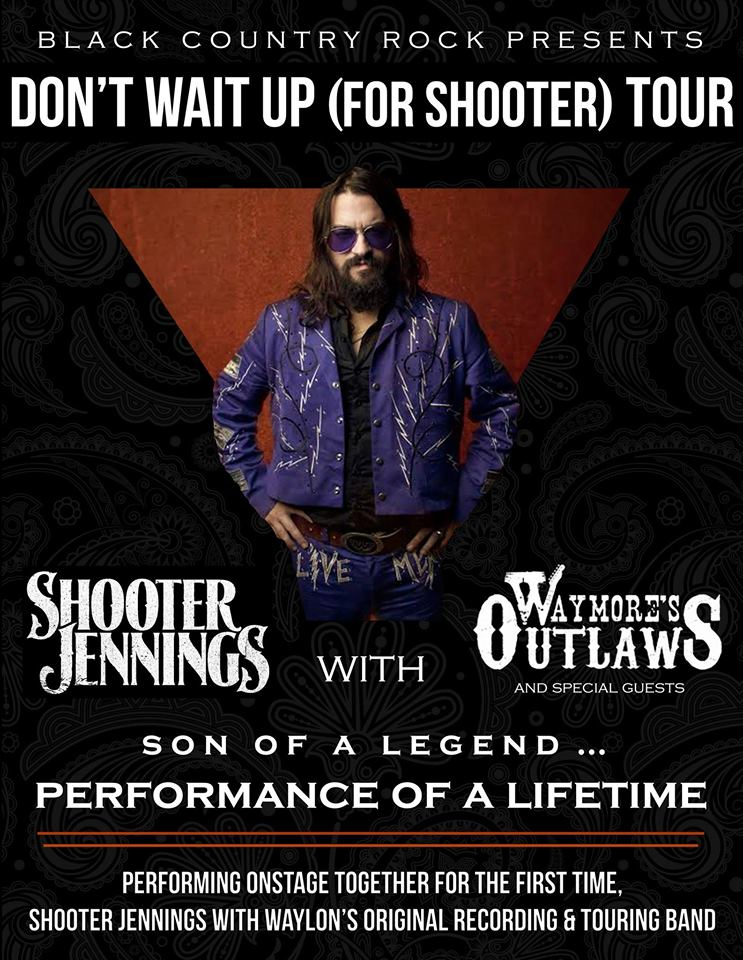 The Law Band w/ Shooter Jennings & Waymore's Outlaws @ 120 Tavern & Music Hall