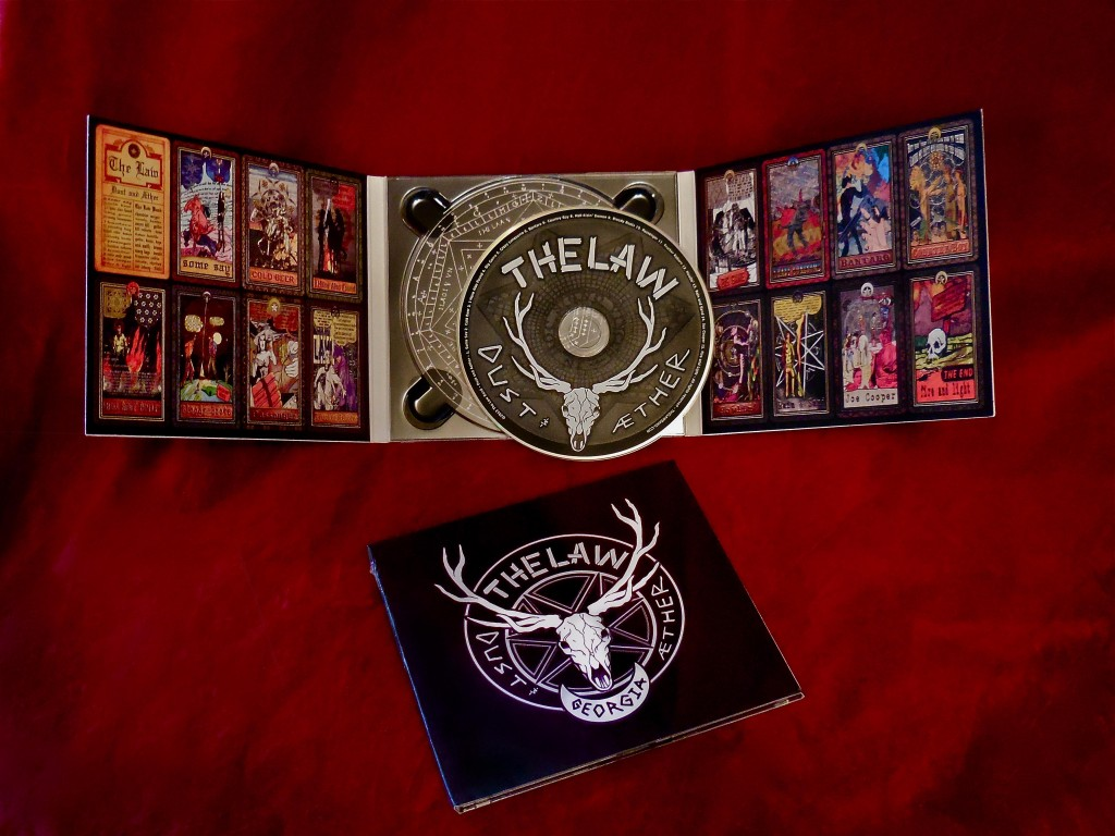 Dust and Aether CD for Sale in The Law Band Store at shop.thelawband.com