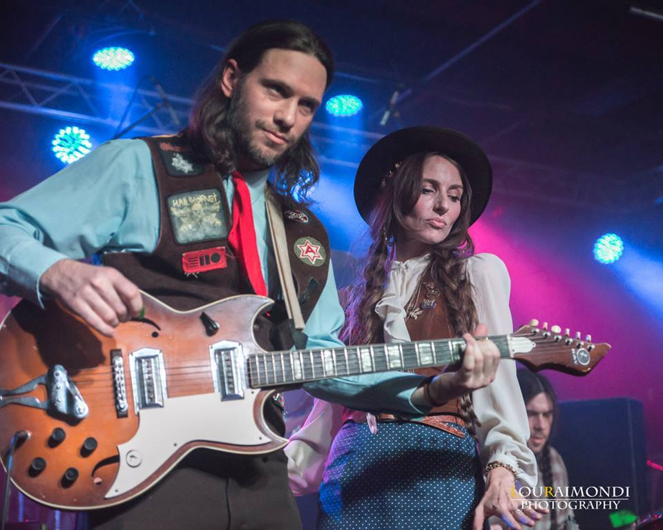 Aaron Hill, Nancy Kaye Hill and Zack Smith at Saturday Shooter Jennings w/ Waymore's Outlaws, Trappers Cabin, The Alabastards and Josh Morningstar at The 120 Tavern and Music Hall! 2/7